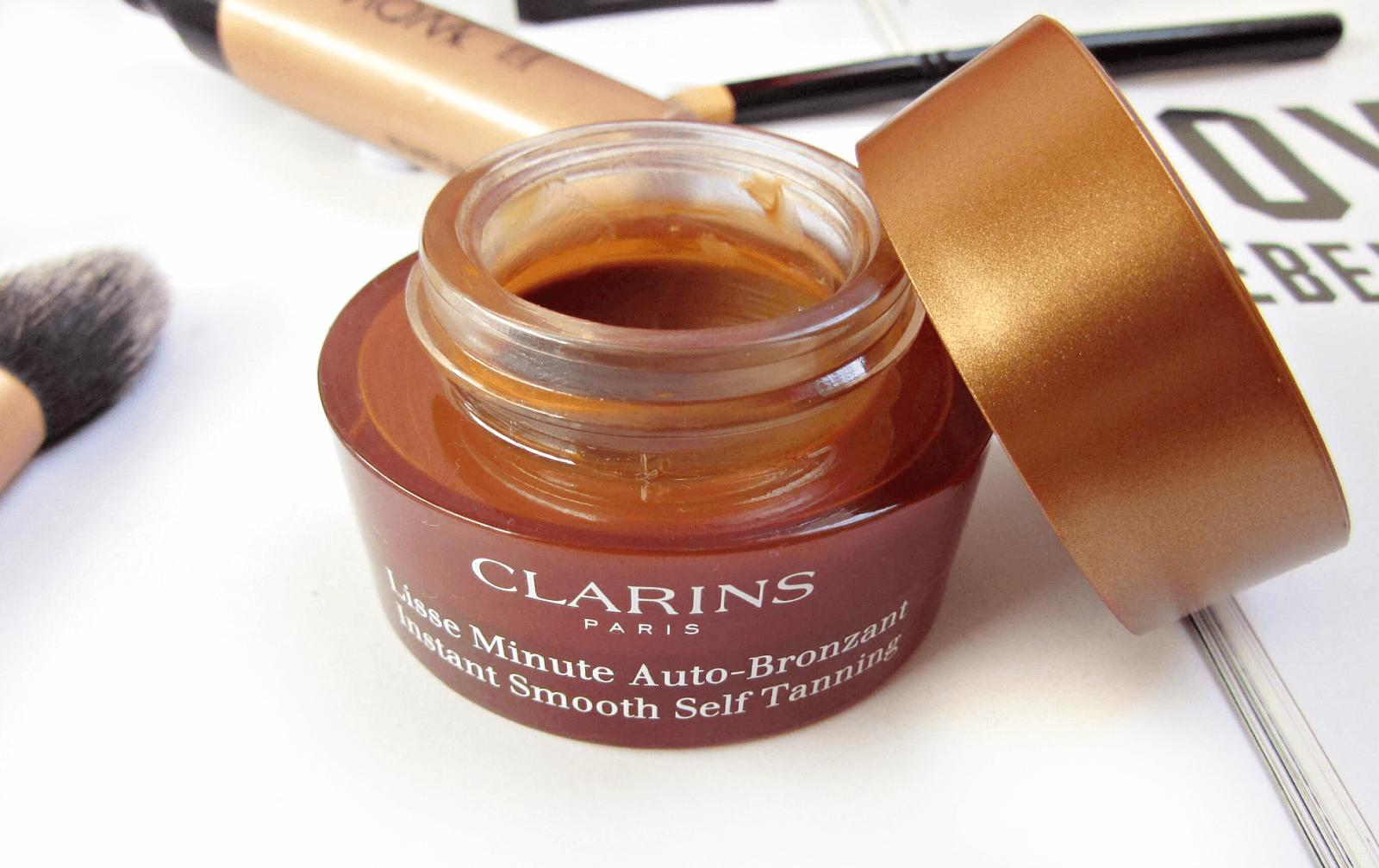 Facial Tanning- Clarins