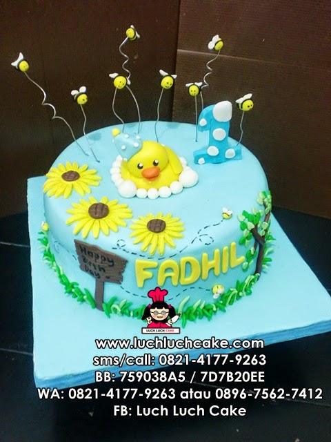 Kue Tart Bebek Daerah Surabaya - Sidoarjo