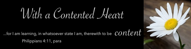 With a Contented Heart