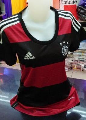 Jual Jersey Bola Ladies Jerman atau Germany Away 2014 Piala Dunia