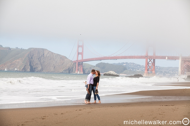 Michelle Walker Photography San Francisco Engagement Photographer
