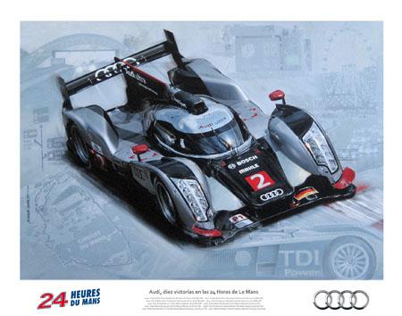 Audi Wins 24 Hs. du Le Mans