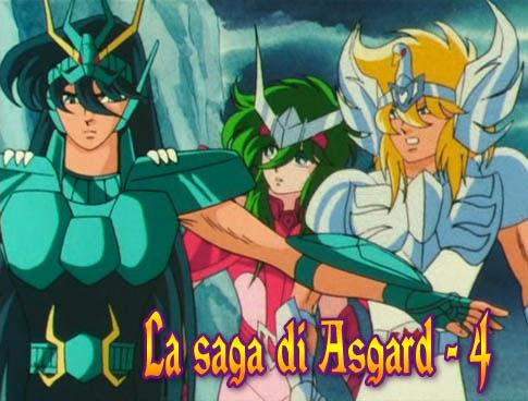 Cavalieri dello Zodiaco Saga di Asgard episodio 4