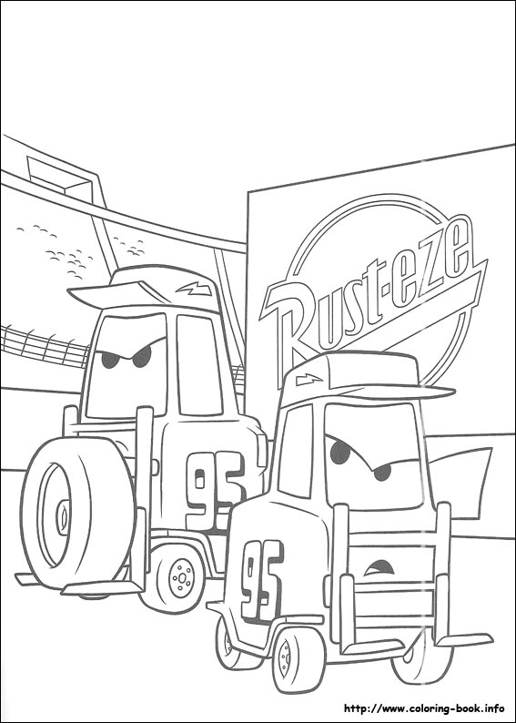 Cars - Coloriage cars 3 thunder hollow ...