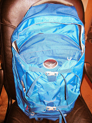 Travel essentials: Osprey Fairpoint 70 Backpack Review