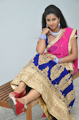 Pavani Gorgeous in half saree-thumbnail-16