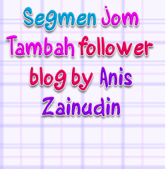 Segmen Jom Tambah Followers Blog