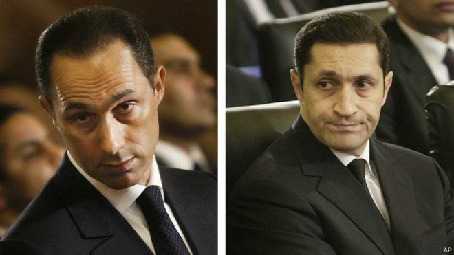 Setelah Empat Tahun Ditahan, Pengadilan Mesir Bebaskan Dua Anak Husni Mubarak