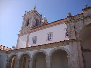 Sitio Nazare church Bell Tower Photo - Leiria