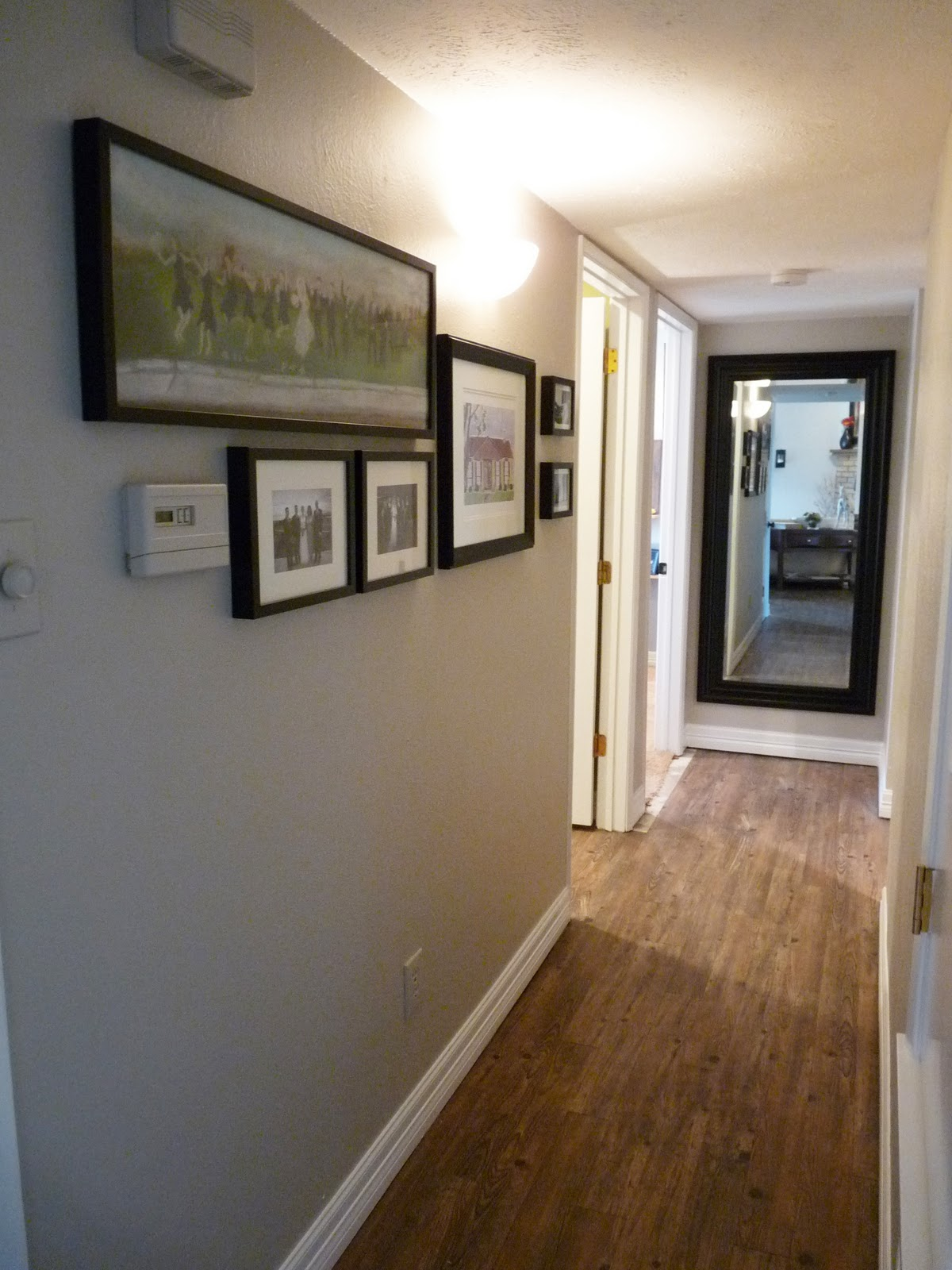 The Happy Homebodies Hallway Mini Makeover