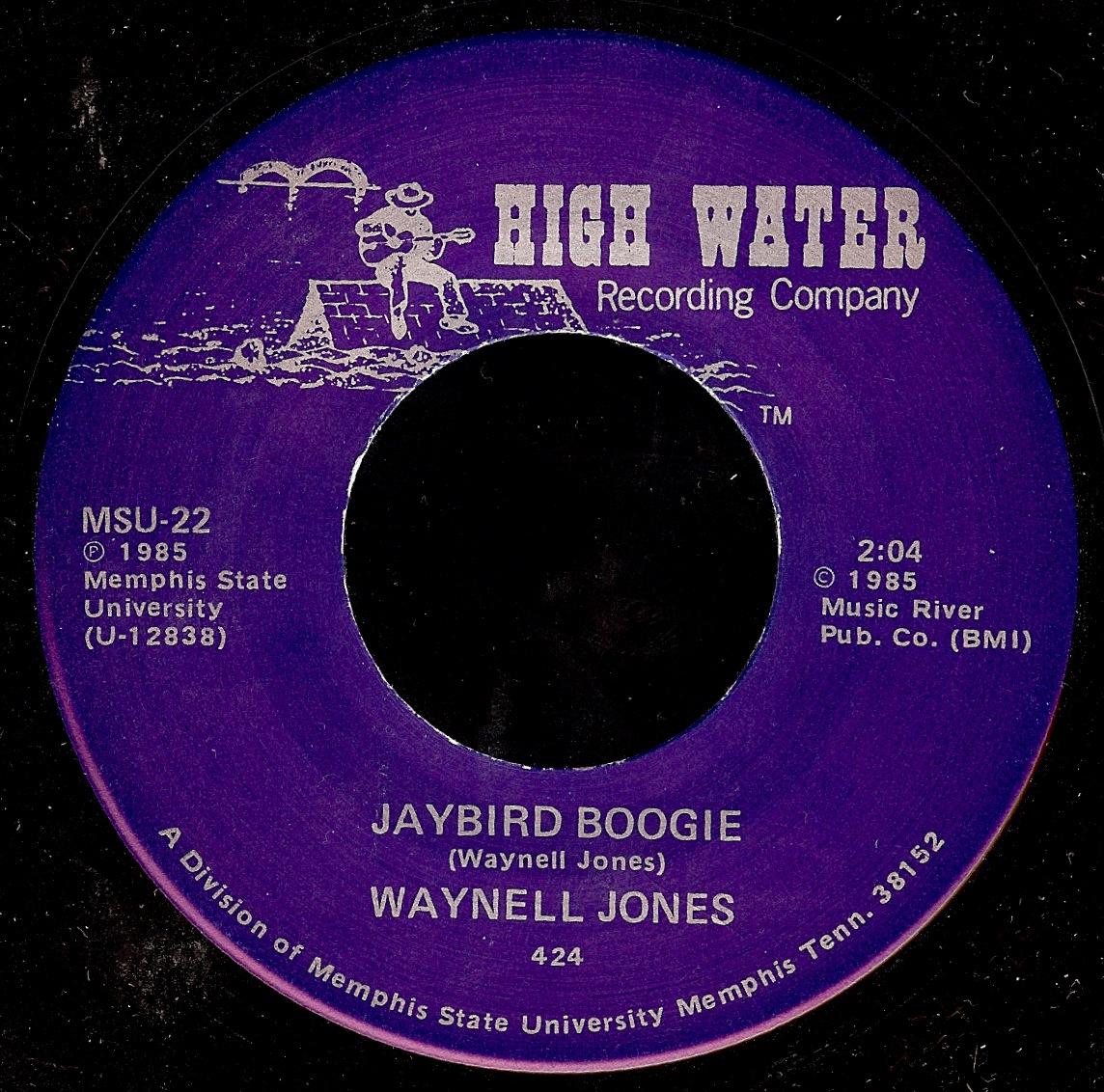 Waynell Jones The Chicken Song Jaybird Boogie