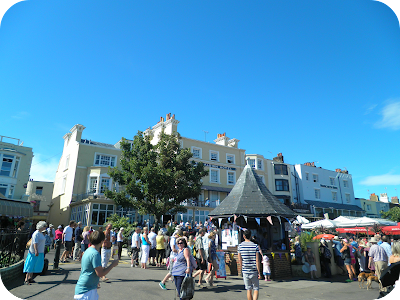 folk week, broadstairs seafront