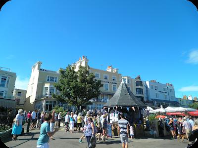 folk week, broadstairs seafront