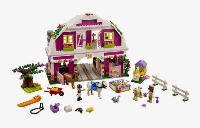 JUGUETES - LEGO Friends - 41039 El Rancho Soleado  Toys | Producto Oficial 2014 | Edad: 6-12 años