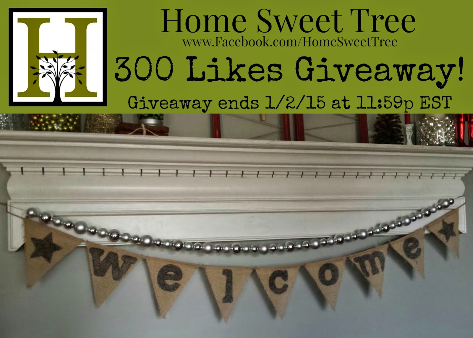 Giveaway home sweet tree for New home giveaway