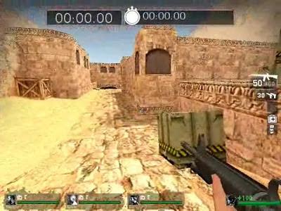 de_dust2 para Left 4 Dead.