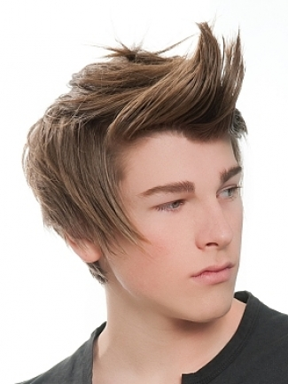 touching hearts men hairstyle