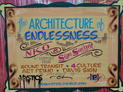 The Architecture of Endlessness by NKO