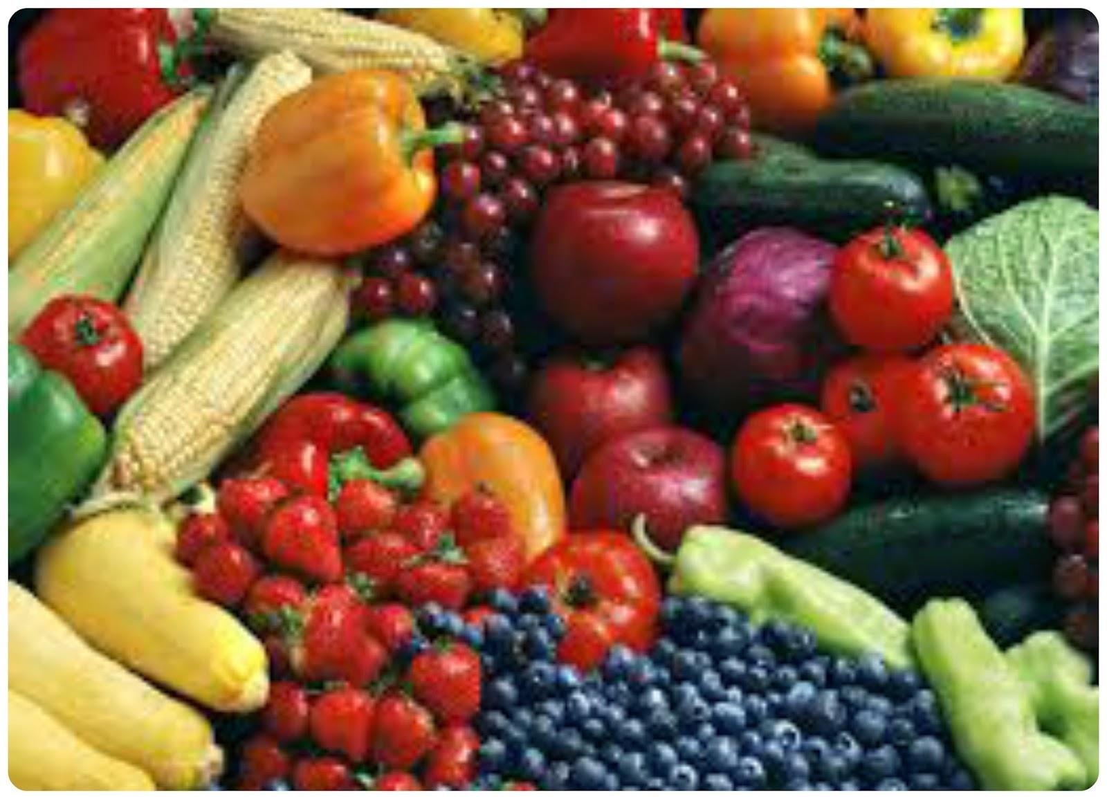 frutas y verdura - vitaminas para combatir la astenia primaveral
