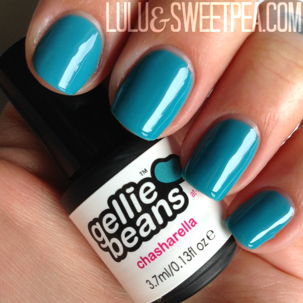 Lulu & Sweet Pea: Gelliebeans gel polish review {Promo code + giveaway!}