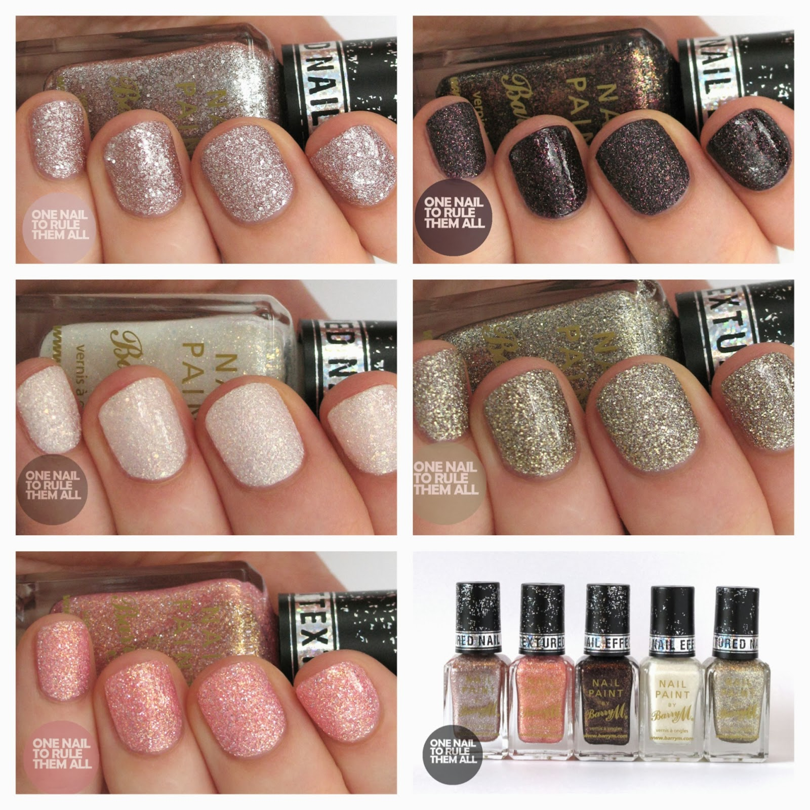 Barry M Autumn/Winter 2013 Royal Glitter Nail Polish Collection ...