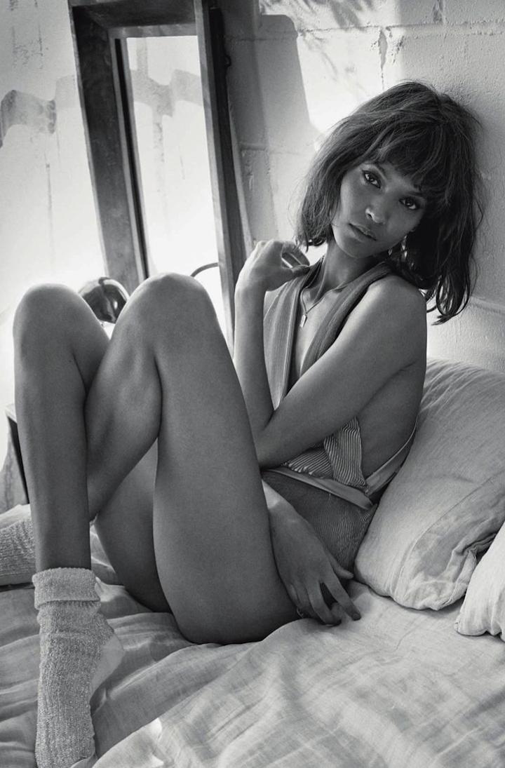 Liya Kebede By Yelena Yemchuk For Vogue Italia January 20143