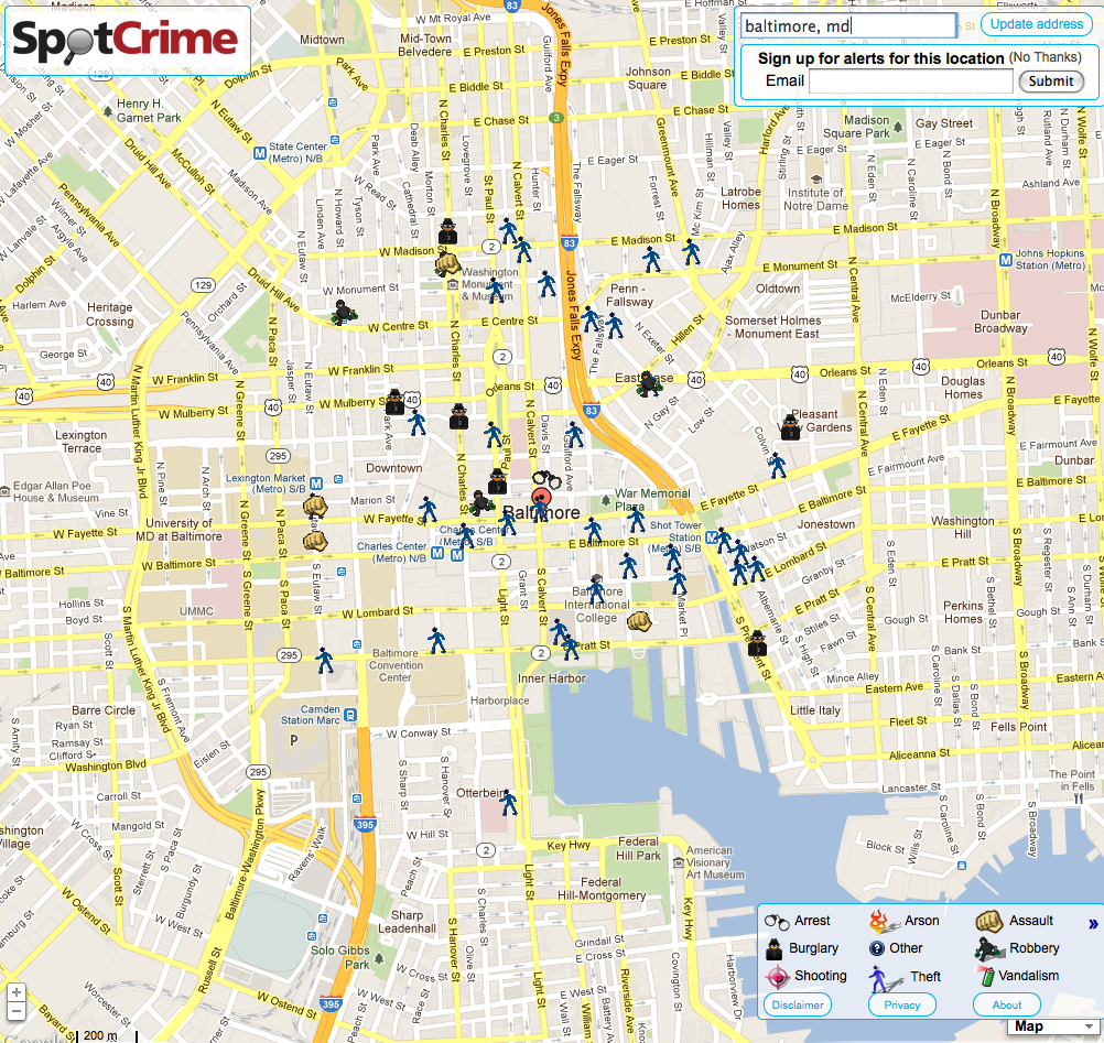 Interested In A Home Security System SpotCrime The Publics - Baton rouge crime map