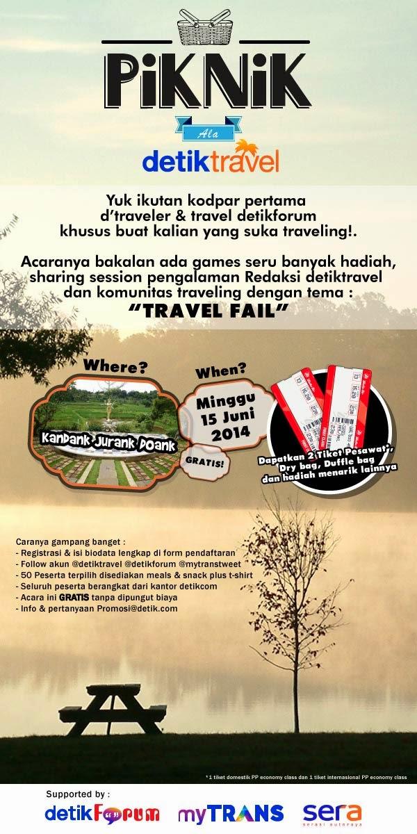 Event Traveler Berhadiah 2 Tiket Pesawat dan hadiah menarik lainnya