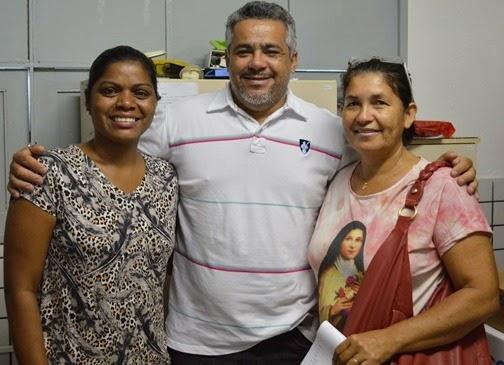Rita, Marcelo e Conceição