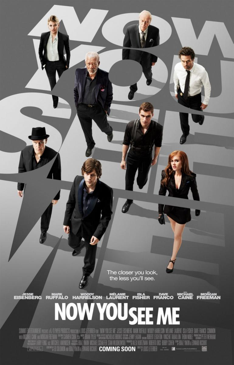 Now You See Me (Ahora me ves) (2013) Online Latino