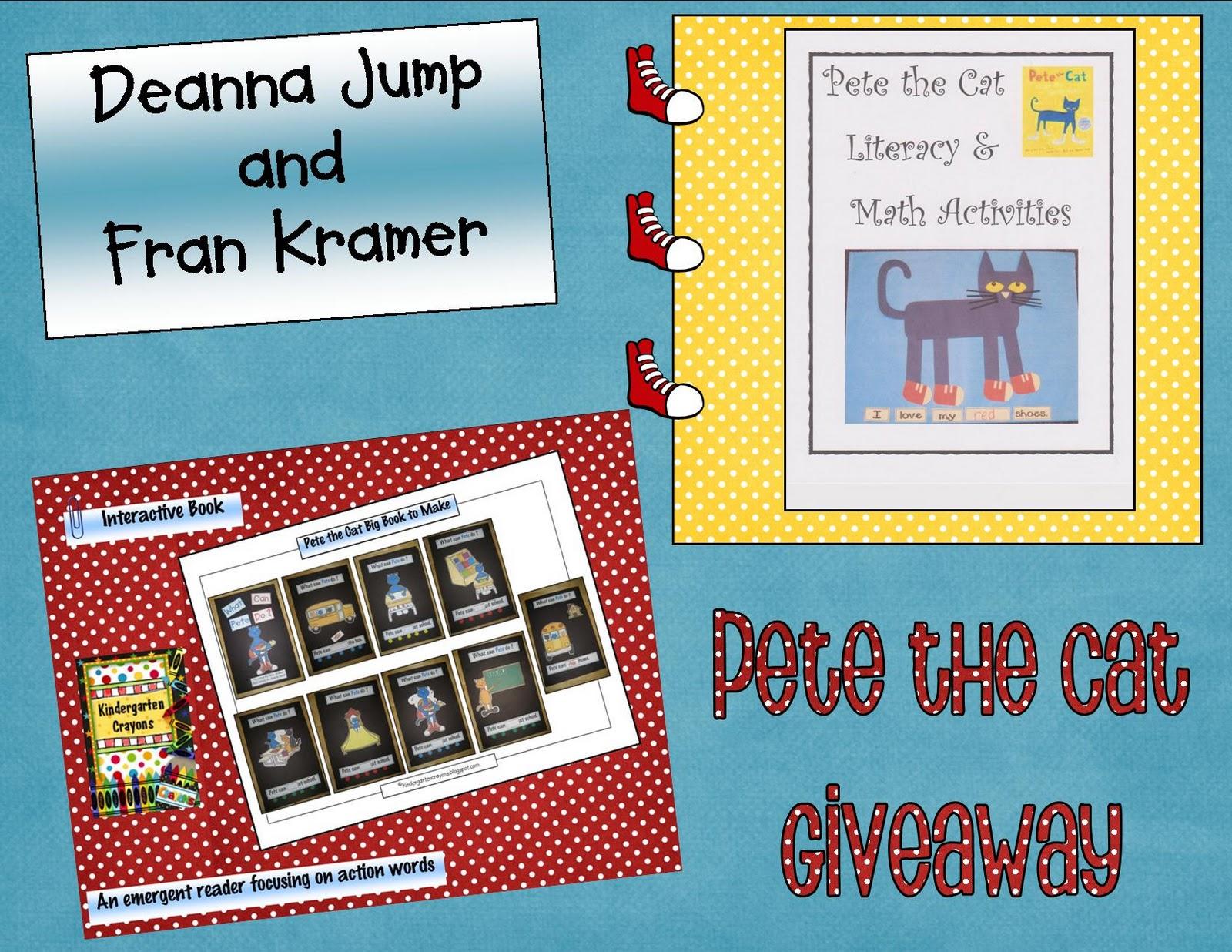 Kindergarten Crayons: Pete the Cat Giveaway is Coming Soon