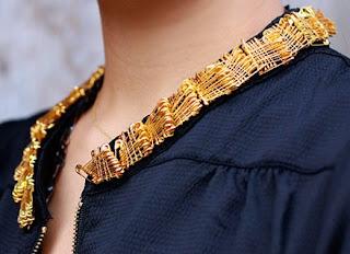 safety pin collar