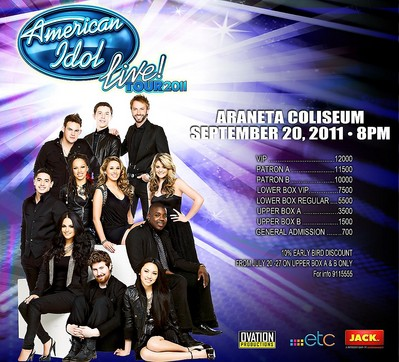 American Idol Live In Manila Ticket Prices, Poster, wallpaper