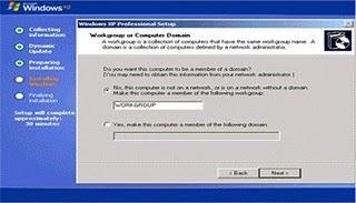 Cara Instal Ulang Windows XP Dengan Gambar