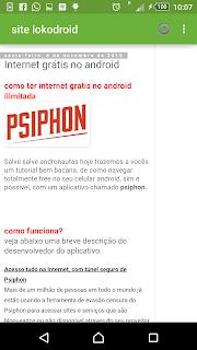 internet grátis navegando offline