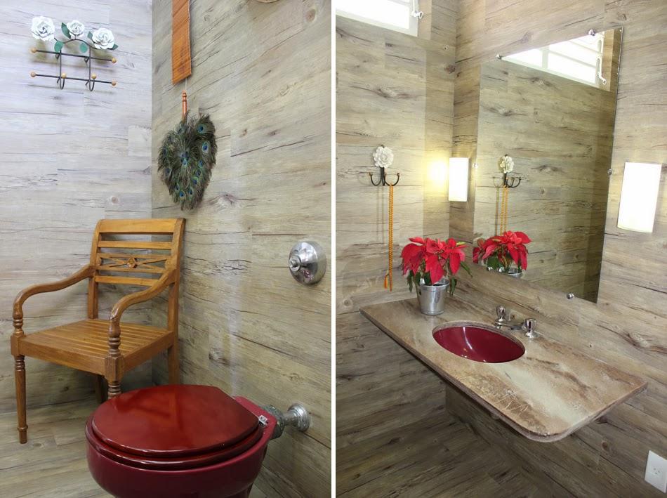 decoracao lavabo rustico : decoracao lavabo rustico:Ateliê Revestimentos: 10 sugestões para decorar banheiros e lavabos