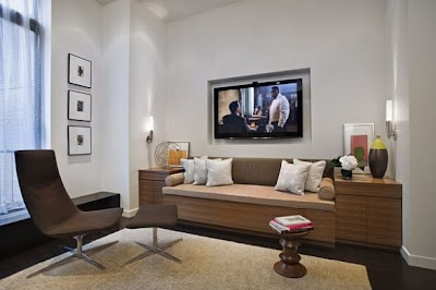 Decoraci n interior de loft moderno en nueva york ideas for Sofa interiors studio city