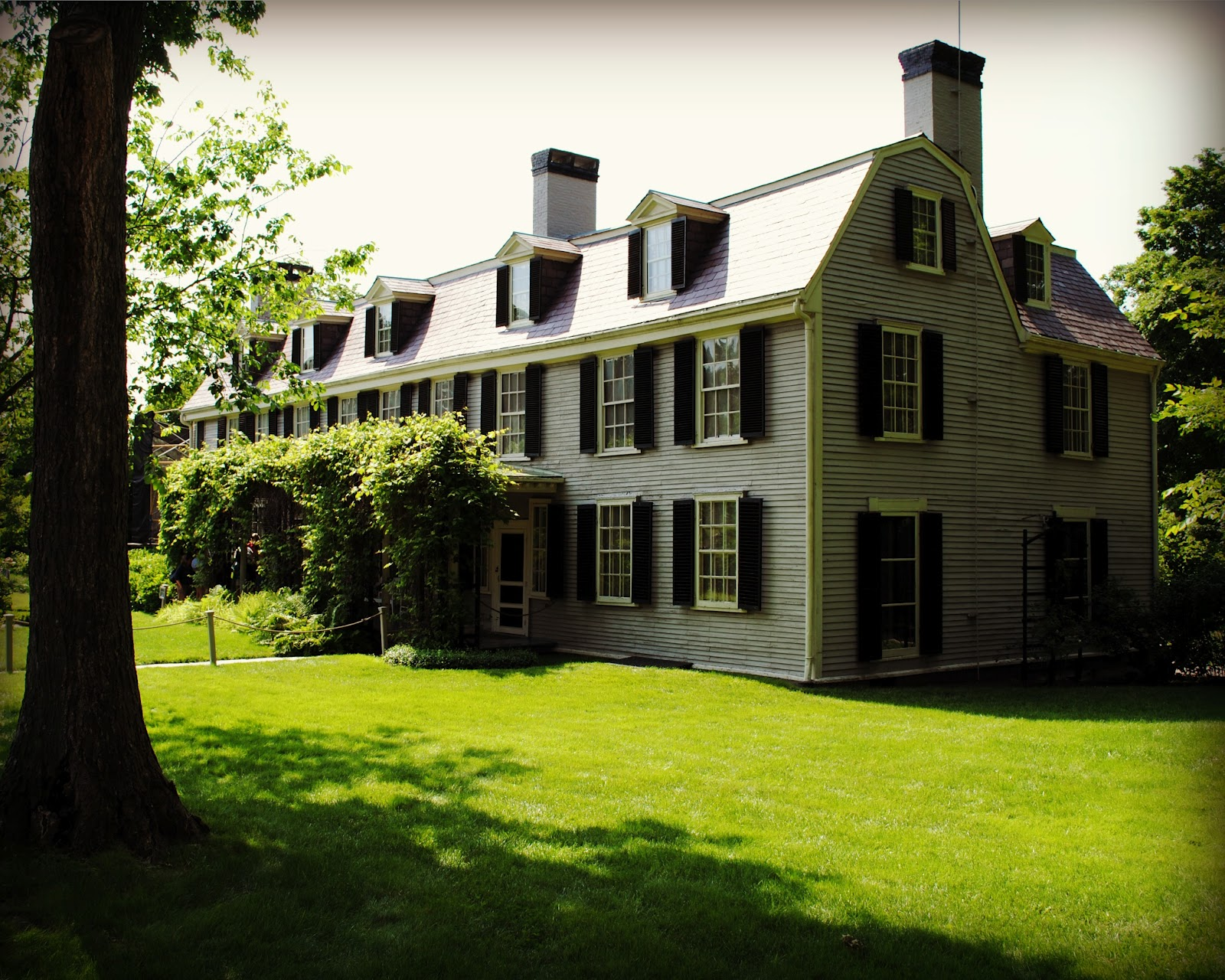 John adams homes and burial sites of the presidents of for Presidents and their home states