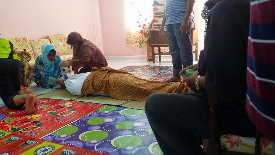 AL Fatihah di ucapkan kepada anak ustaz suhud bin yakkob imam masjid kampung seri perkasa