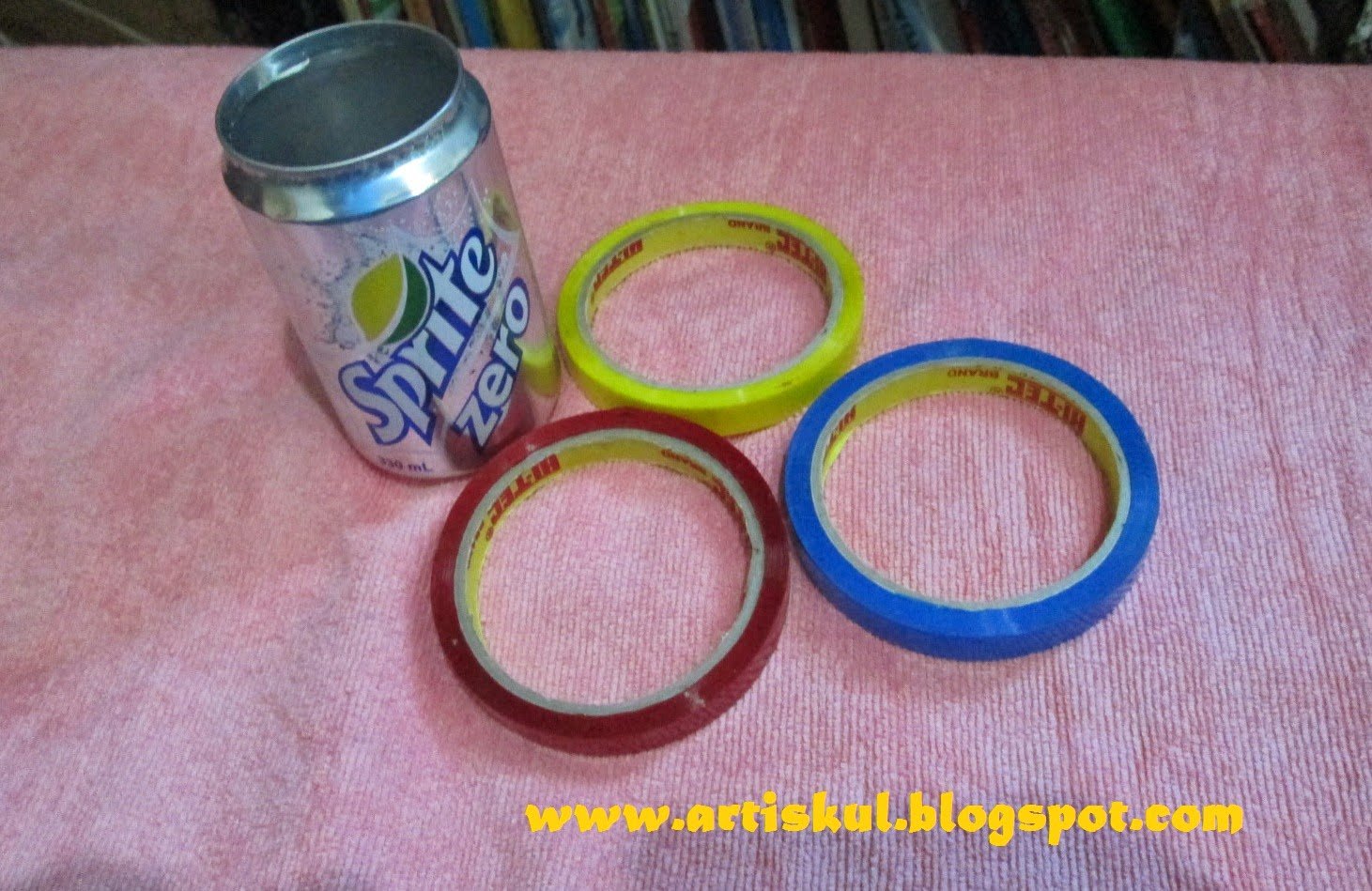 Art School: How to recycle empty soda cans into flower pots
