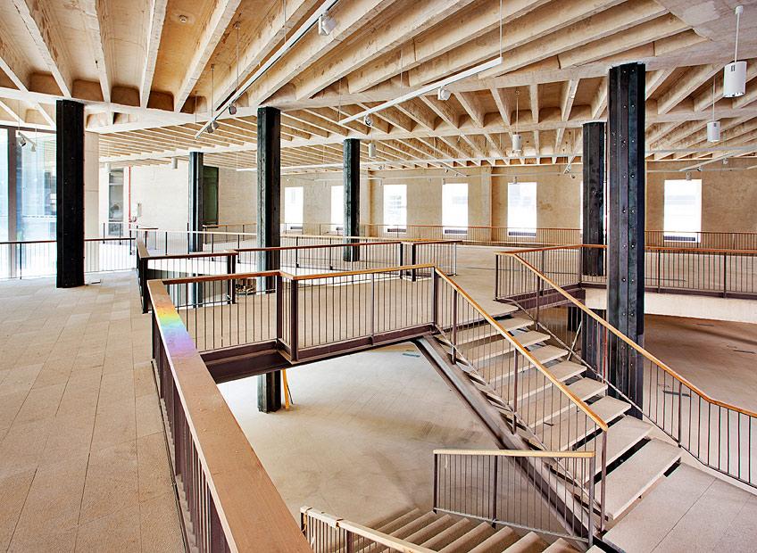 Nueva sede del colegio oficial de arquitectos de madrid - Escuela de arquitectura de valladolid ...