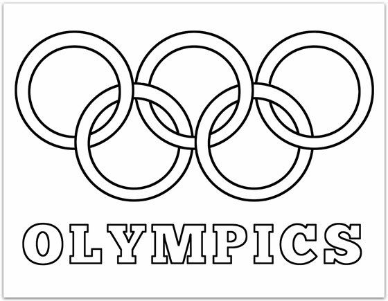 each family member will design their flag and name their country then they can color this olympic rings coloring page i made