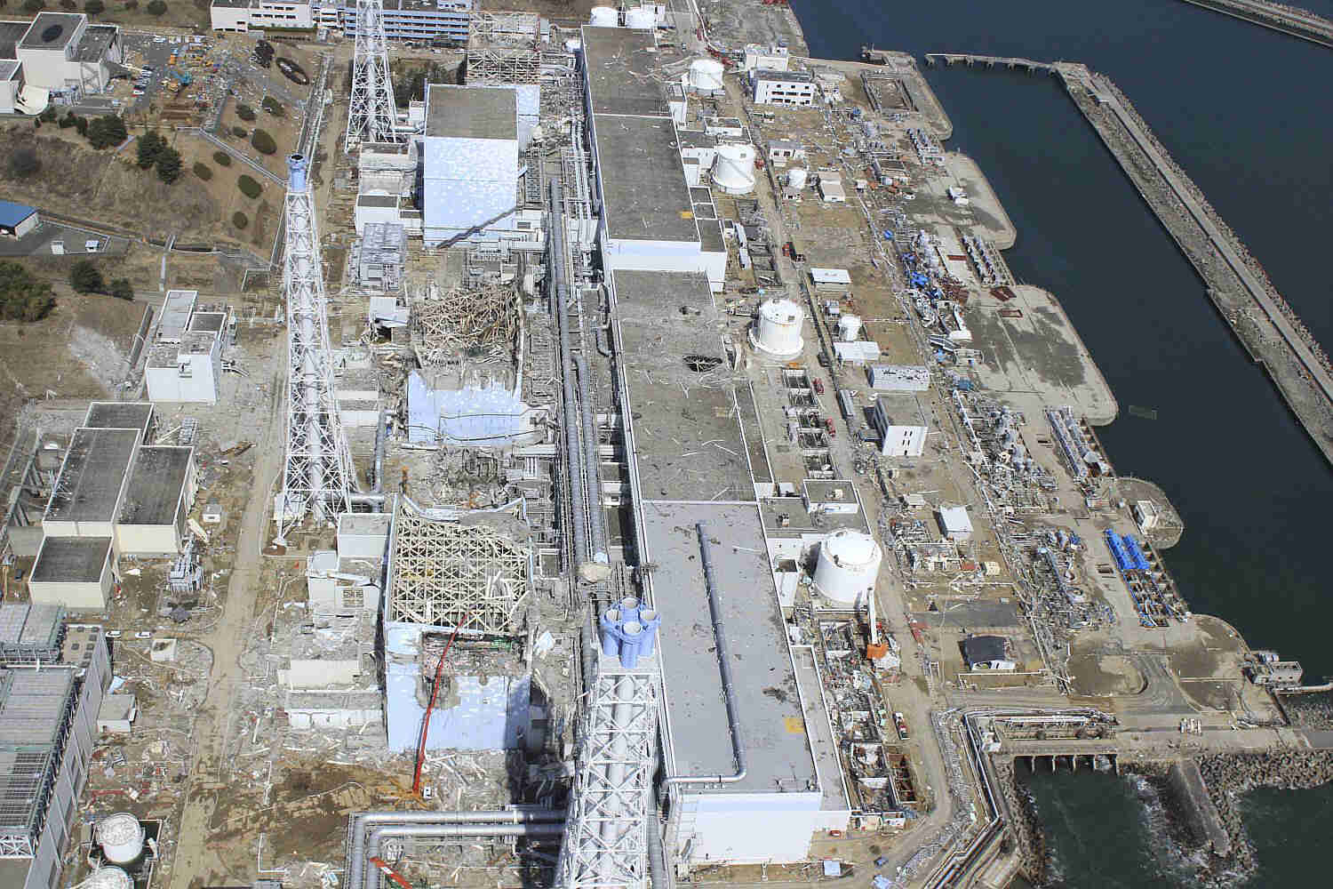 Fukushima daiichi nuclear power plant accident crisis nuclear site layout fukushima daiichi nuclear power plant ccuart Gallery