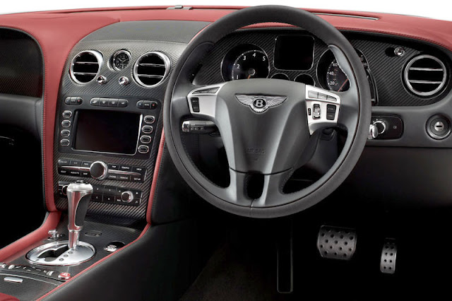 2010 Bentley Continental Supersports Front Interior