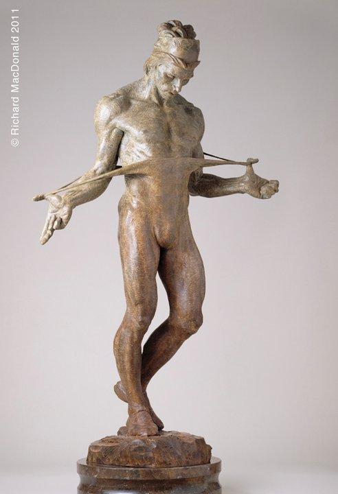 Richard MacDonald 1946 | American figurative sculptor | Rudolf Nureyev