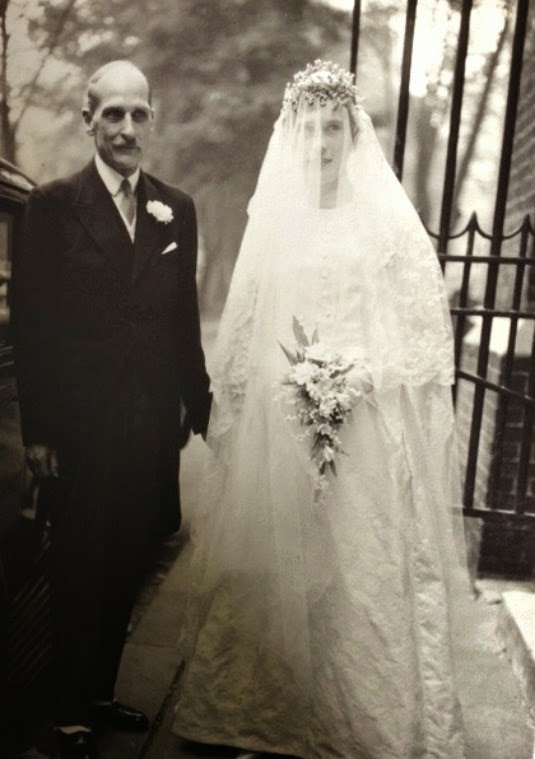 125 Years Of Vintage Wedding Dresses Great Aunt Hia In 1961