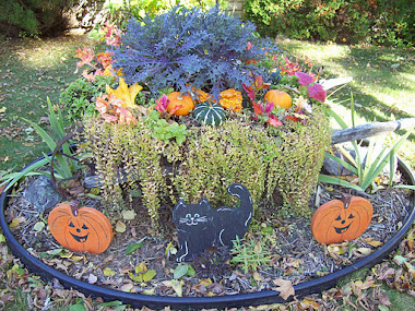 OUR FALL WHEELBARROW
