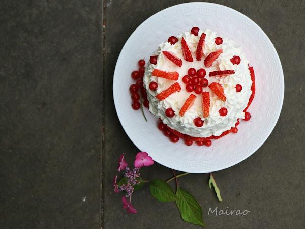 saftige Melonen Torte