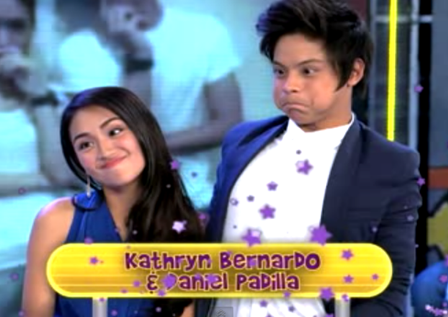 Kathryn Bernardo and Daniel Padilla on GGV (March 10) #KathNielWeekend