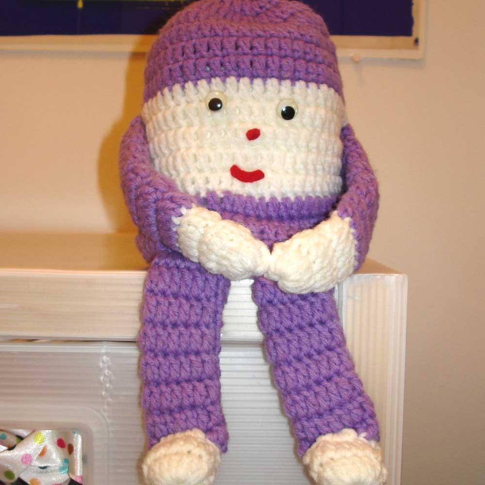 C Dianne Zweig Kitsch N Stuff Kitschy Vintage Crocheted Toilet